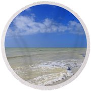 Forgiven Luxury Round Beach Towel
