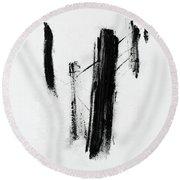 Forgotten #11 Round Beach Towel