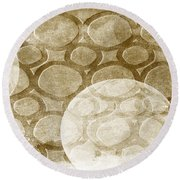 Formed In Fall Round Beach Towel