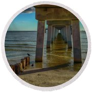 Fort Myers Beach Round Beach Towel
