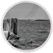 Fort Sumter Civil War Battles Round Beach Towel