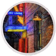 Fort Worth Impressions Scat Lounge Round Beach Towel