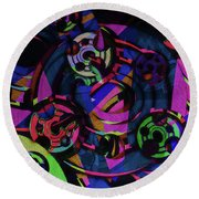 Fortune Wheel Round Beach Towel