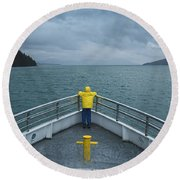 Forward Lookout Round Beach Towel
