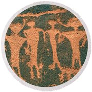 Four Anasazi Round Beach Towel