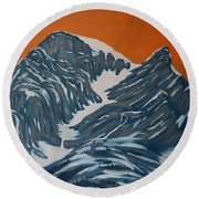 Four Sisters 3 Round Beach Towel