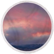 Fourmile Canyon Fire Image 90 Round Beach Towel