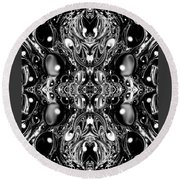 Fractal 62316.1 Round Beach Towel