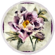 Fragerent Bloom IIi Round Beach Towel