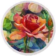 Fragrant Roses Round Beach Towel