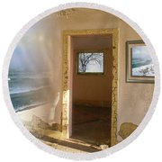 Framed    Round Beach Towel