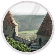 France - Id 16235-220244-1257 Round Beach Towel