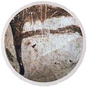 France: Mammoth Art Round Beach Towel
