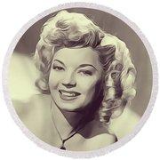 Frances Langford, Vintage Actress Round Beach Towel