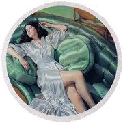 Francesca Round Beach Towel