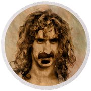 Frank Zappa Collection - 1 Round Beach Towel