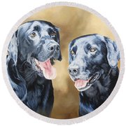 Frankie And Ross Round Beach Towel