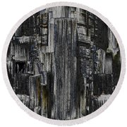 Freeway Park 2 Round Beach Towel