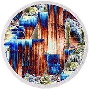 Freeway Park 5 Round Beach Towel
