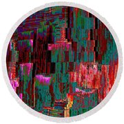 Freeway Park Squared Round Beach Towel