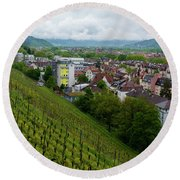 Freiburg Wine Sloop Round Beach Towel