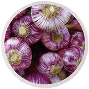French Onions Round Beach Towel