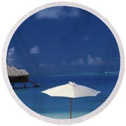 French Polynesia, Bora Bora Round Beach Towel