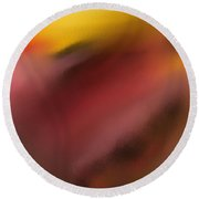 Frenetic  Landscape Round Beach Towel