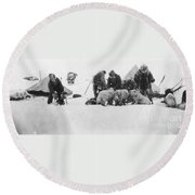 Fridtjof Nansen (1861-1930) Round Beach Towel