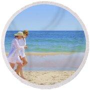 Friendship Round Beach Towel