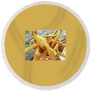 Fries Round Beach Towel