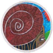 From Africa Round Beach Towel