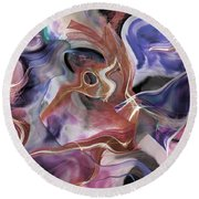 From Beyond II Round Beach Towel