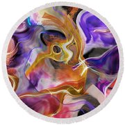 From Beyond  Round Beach Towel