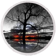 From Darkness Round Beach Towel