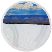 From The Basin Round Beach Towel