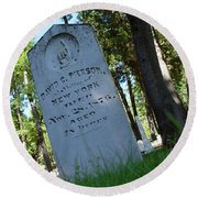 From The Grave Round Beach Towel