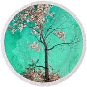 From The Top Round Beach Towel