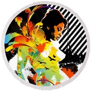 From Within Round Beach Towel