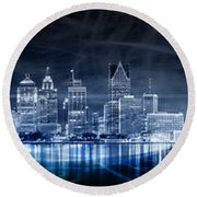 Fromthed Round Beach Towel
