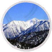 Frontier Splendor Round Beach Towel