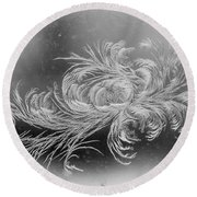 Frost 2 Round Beach Towel