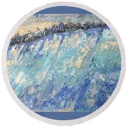 Frost Round Beach Towel