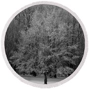 Frosted Round Beach Towel