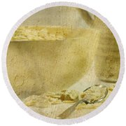 Frosted Flakes Round Beach Towel