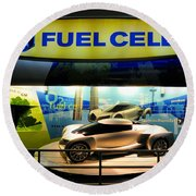 Fuel Cell Tech Round Beach Towel