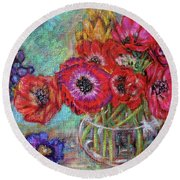 Full Colors Round Beach Towel