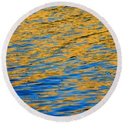 Fully Involved Round Beach Towel
