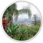 Funchal Maderia Round Beach Towel