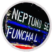Funchal Round Beach Towel